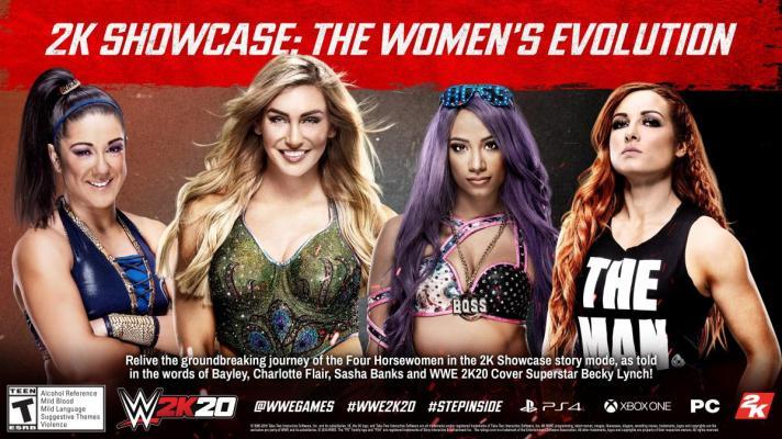 WWE showcase