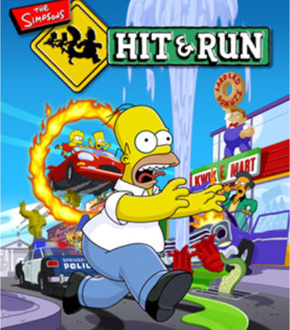 simpsons hit and run cover